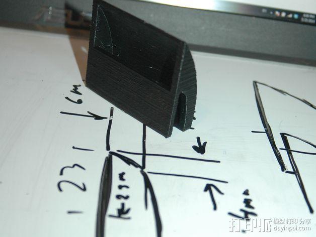 华硕TF201音质改变其 3D打印模型渲染图