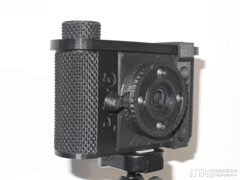 广角照相机 3D打印模型渲染图