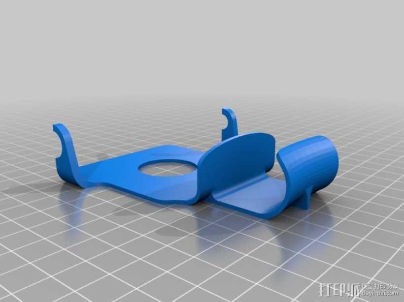 苹果充电座 3D打印模型渲染图