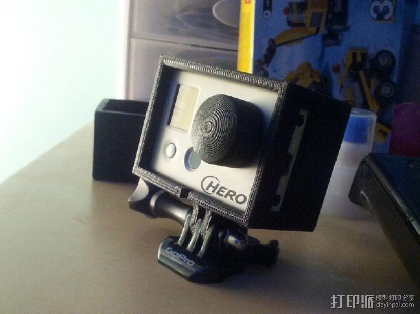 Hero 1 & 2外壳 3D打印模型渲染图