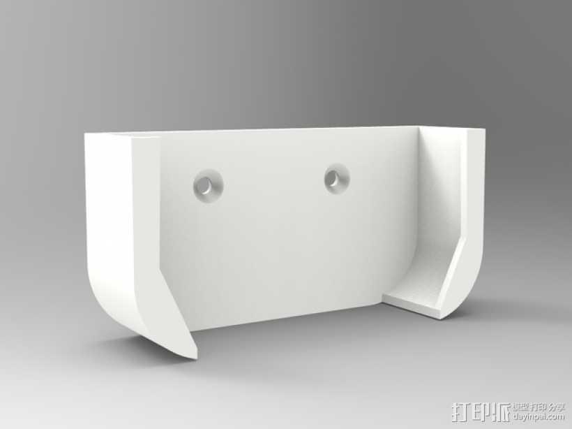 Apple 墙面挂载 3D打印模型渲染图