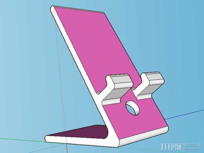 手机/ipad 支架 3D打印模型渲染图