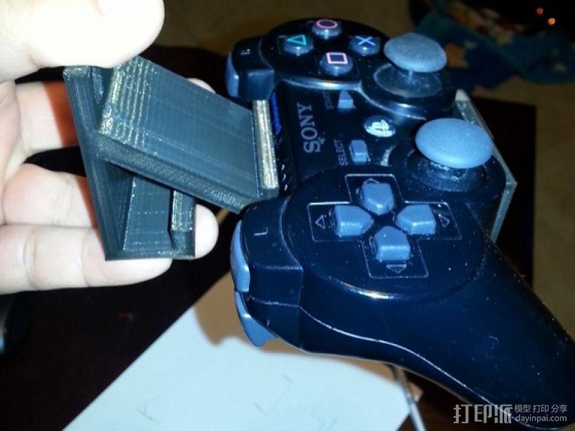 游戏机支架 3D打印模型渲染图