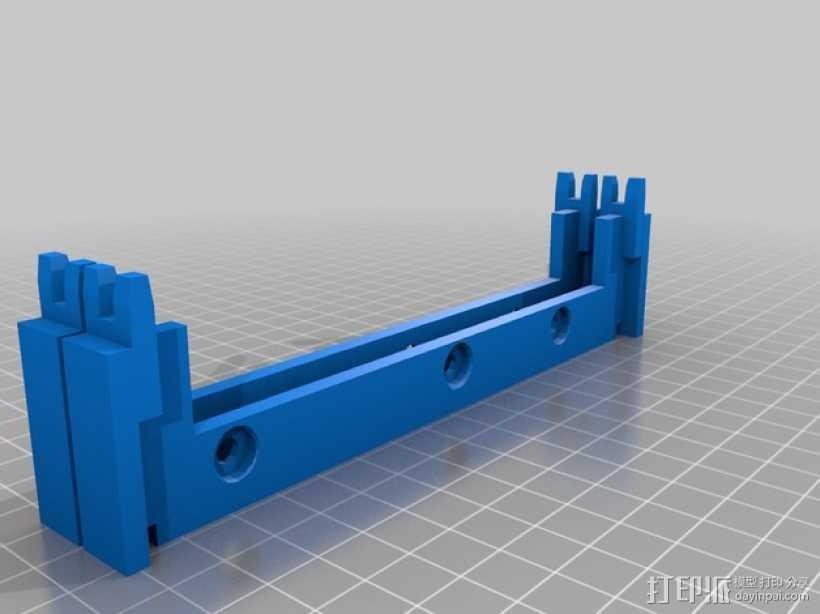 专门为转硬盘设计的壳子 3D打印模型渲染图