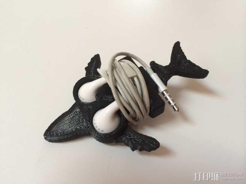 鲸鱼绕线器 3D打印模型渲染图