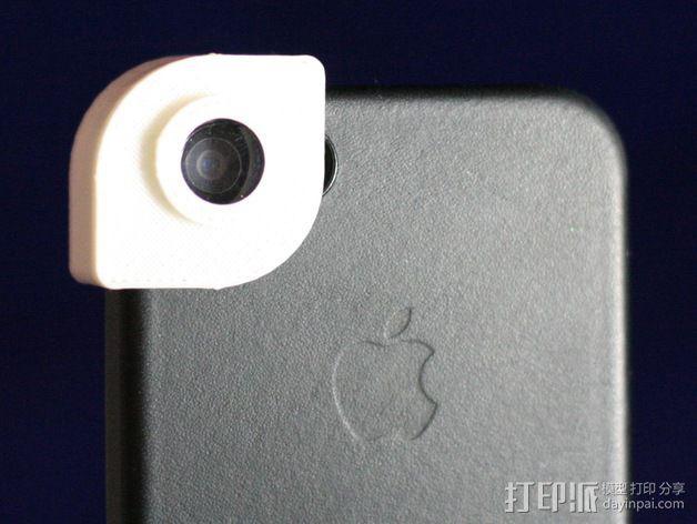 iPhone 5s 滤镜 3D打印模型渲染图