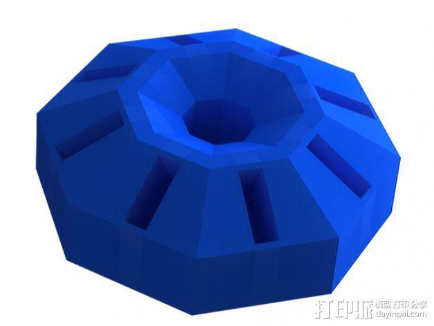 USB收纳器 3D打印模型渲染图