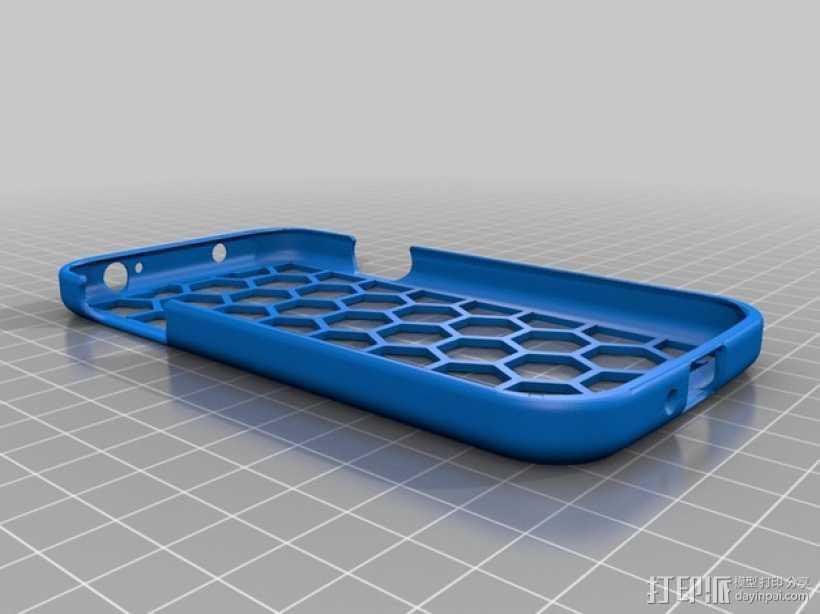 Galaxy S4手机壳 3D打印模型渲染图