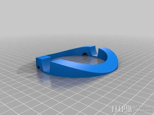 Macbook Pro 支架 3D打印模型渲染图