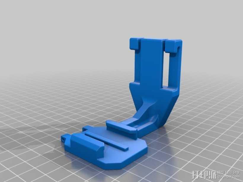 GoPro潜水配件 3D打印模型渲染图