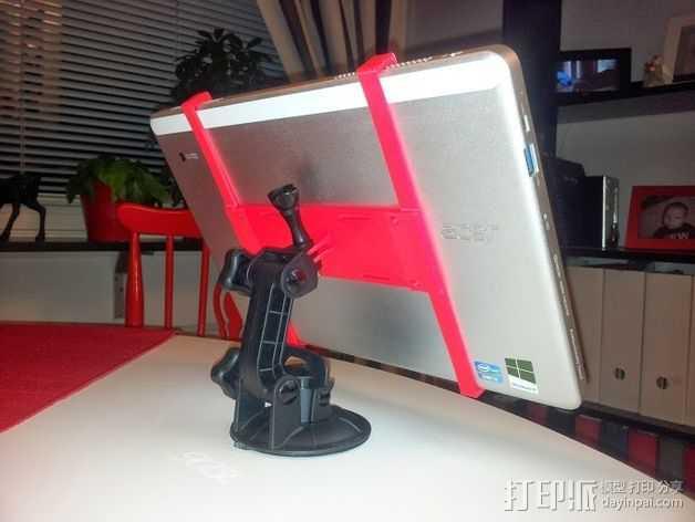 大型支架 3D打印模型渲染图
