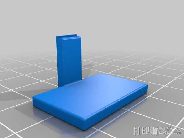 闪光灯挡板 3D打印模型渲染图