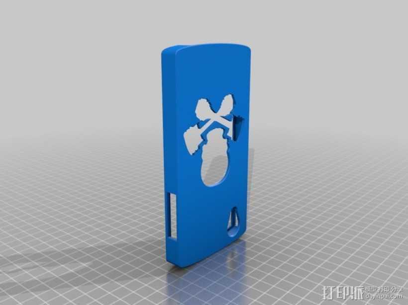 Nexus 5手机壳 3D打印模型渲染图