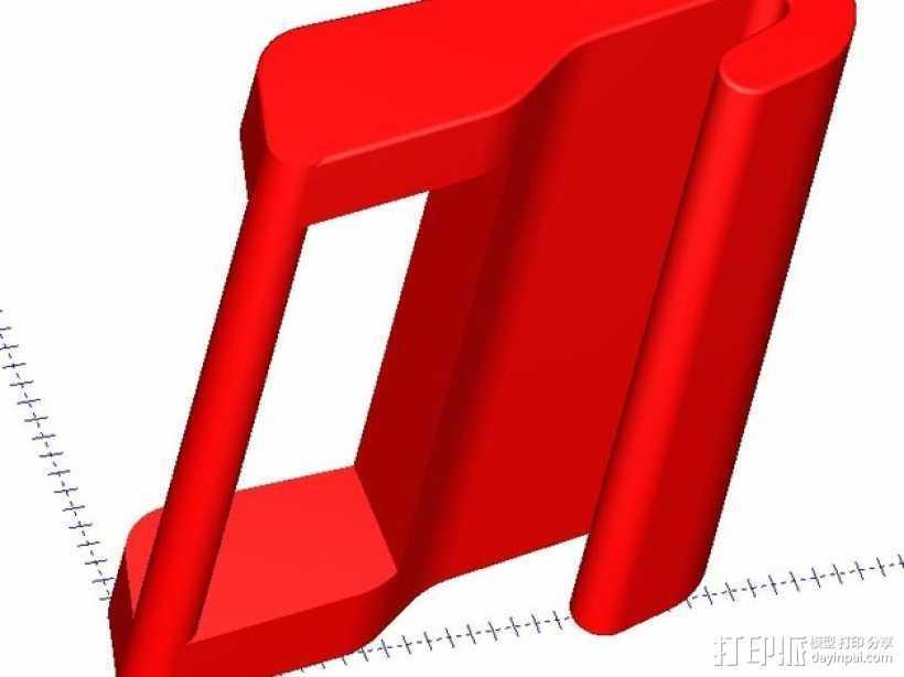 GoPro栓子 3D打印模型渲染图