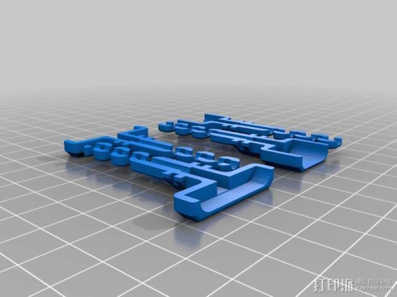 USB接口保护器 3D打印模型渲染图