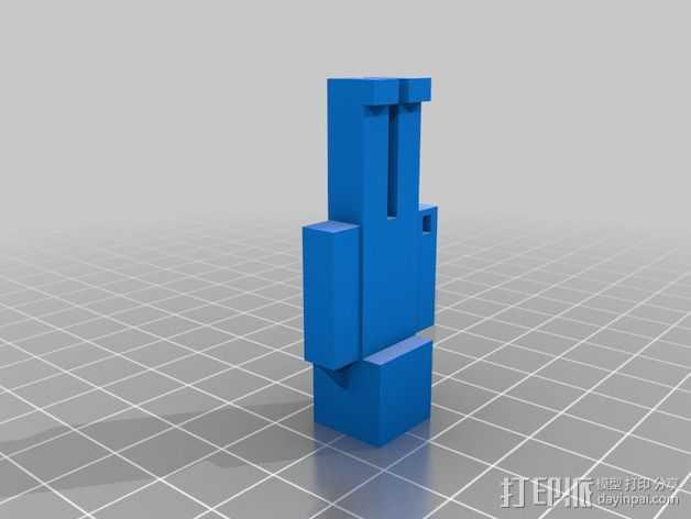 Minecraft Steve摆件 3D打印模型渲染图