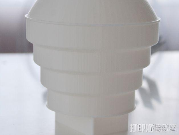 Nikon 910 TTL闪光灯灯罩 3D打印模型渲染图