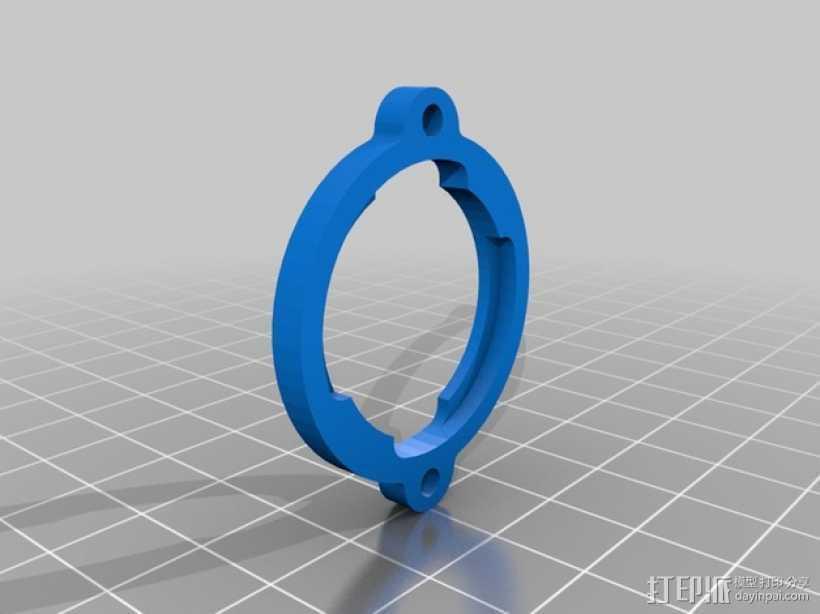 吊环 3D打印模型渲染图