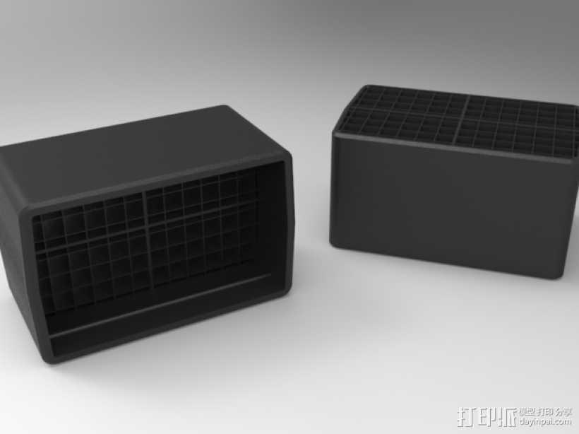 佳能380EX盒子 3D打印模型渲染图