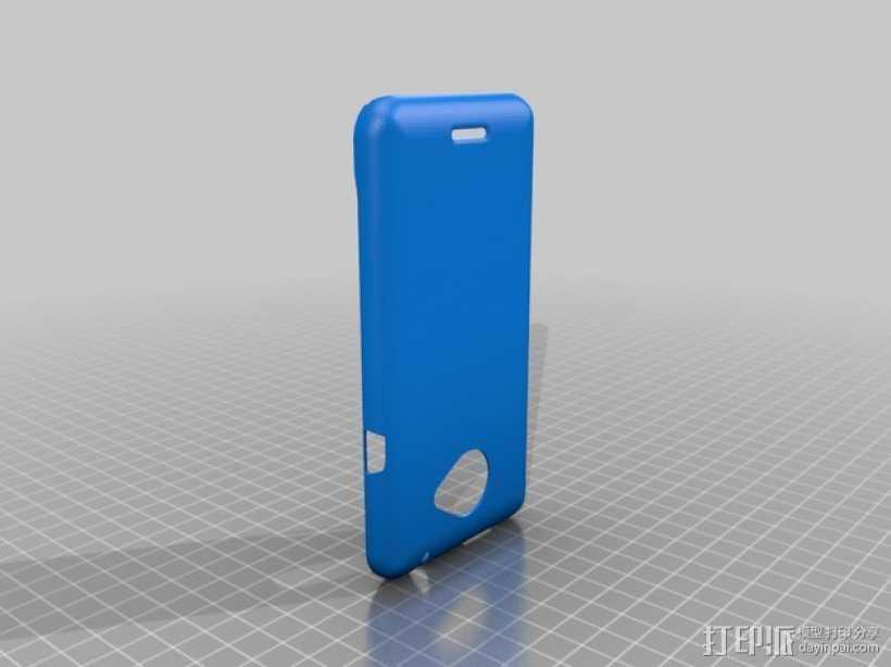 HTC Evo 4G 手机壳 3D打印模型渲染图