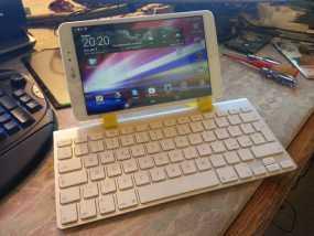 苹果无线键盘和LG PAD连接器