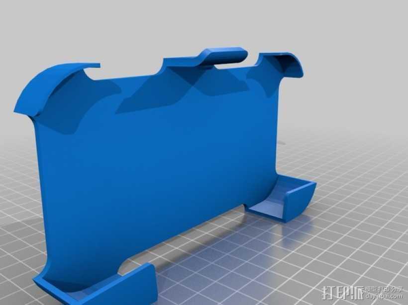 S4手机壳 3D打印模型渲染图