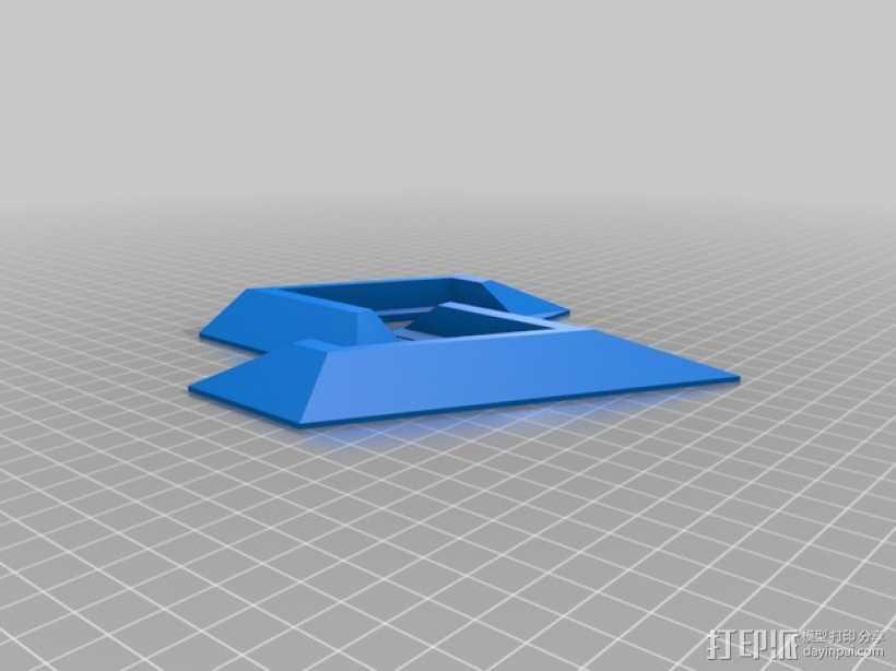 PS4支架 3D打印模型渲染图