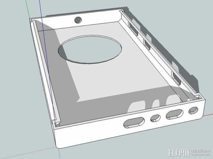 Nokia Lumia 1020手机壳 3D打印模型渲染图