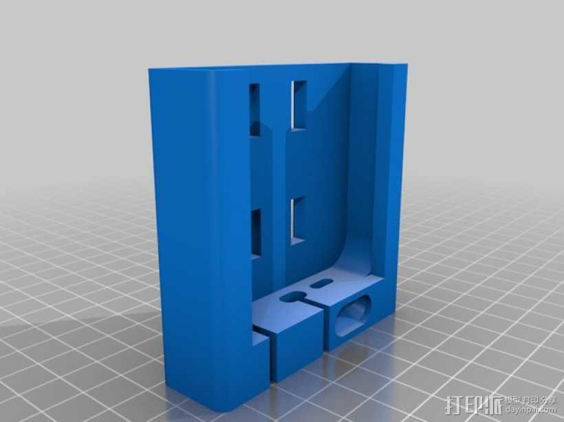 Iphone5适配器 3D打印模型渲染图