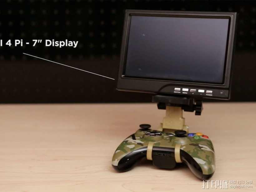 游戏挂载 3D打印模型渲染图