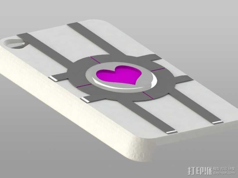 iPod Touch保护壳 3D打印模型渲染图