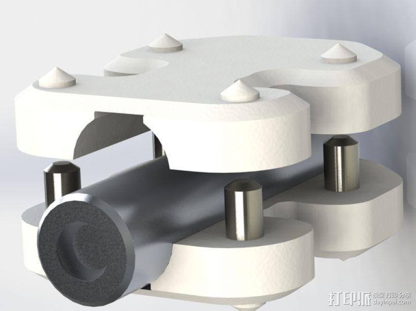 安装板 3D打印模型渲染图