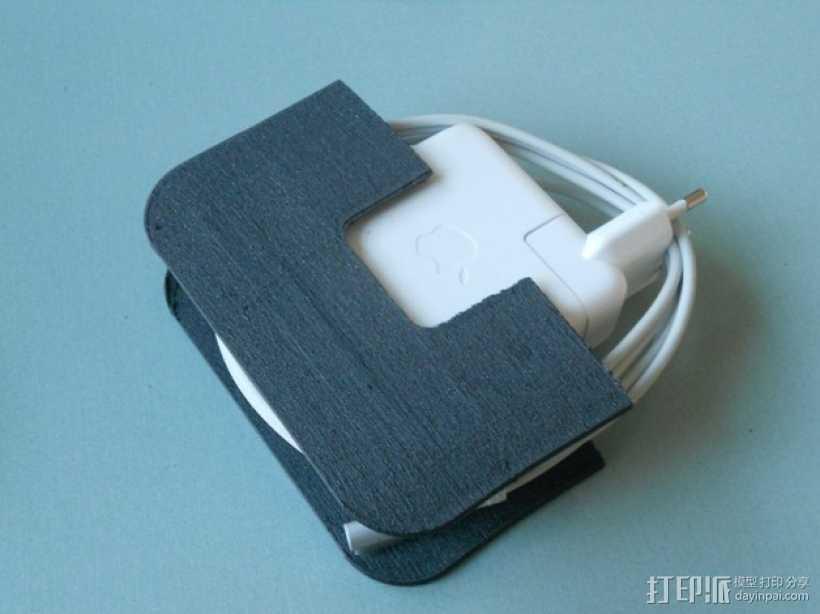 充电器保护壳 3D打印模型渲染图