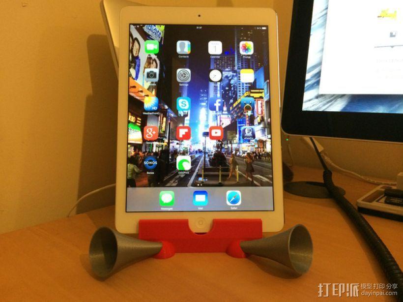 iPad Air支架 3D打印模型渲染图