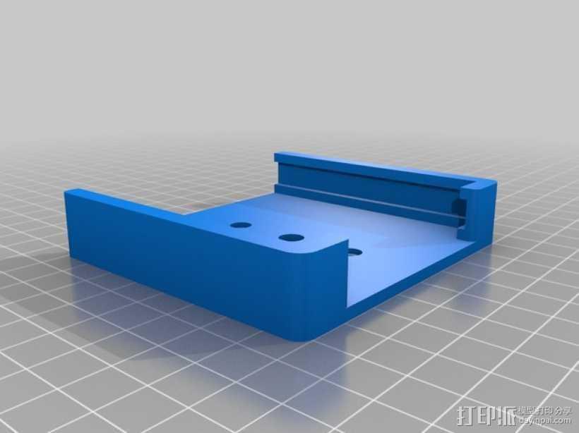 Samsung Note3车载支架 3D打印模型渲染图