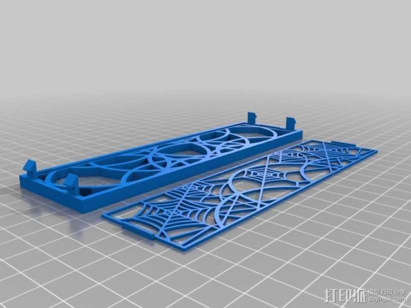 计算机主机挡板 3D打印模型渲染图
