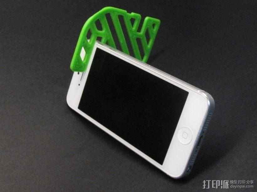 卡座 3D打印模型渲染图