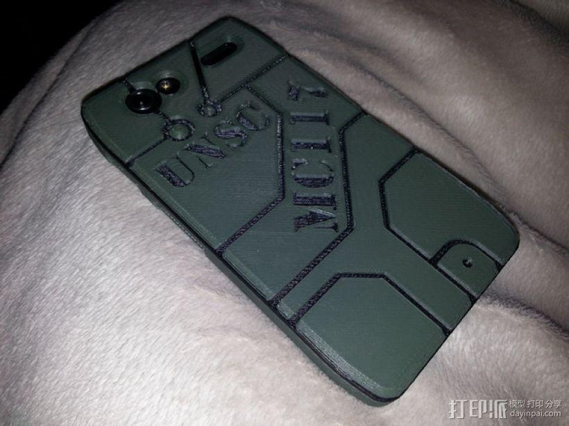 Motorola Droid Razer手机壳 3D打印模型渲染图