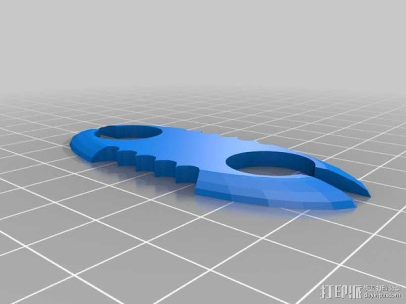 蓝牙耳机 3D打印模型渲染图