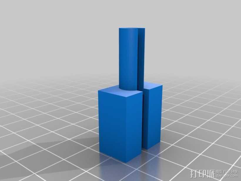 USB电缆保护器 3D打印模型渲染图