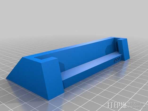 iPhone 5/5S 手机座 3D打印模型渲染图