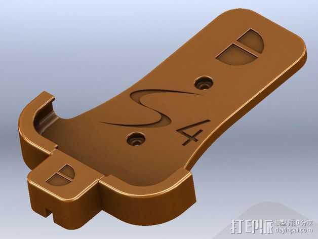 Samsung S4 手机座 3D打印模型渲染图