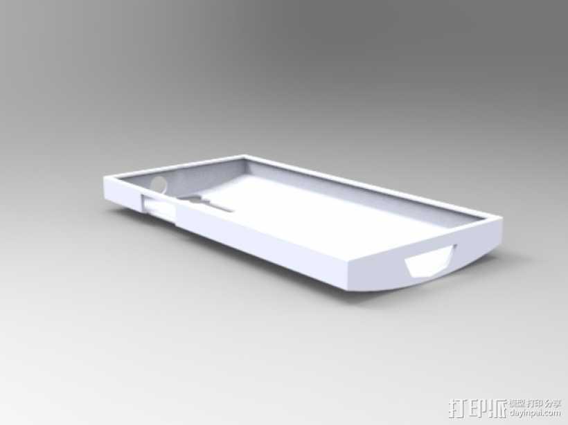 Xperia S手机壳 3D打印模型渲染图