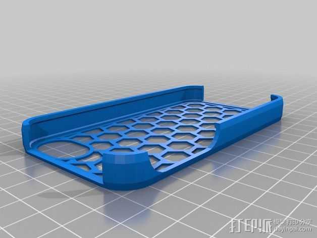 iPhone 手机座 3D打印模型渲染图