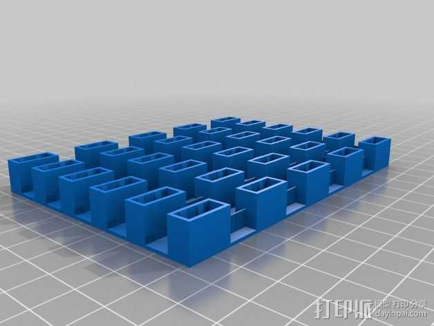 USB存储器 3D打印模型渲染图