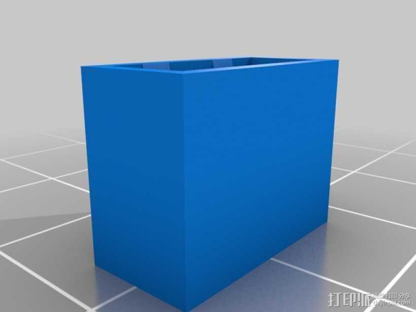 USB盖子 3D打印模型渲染图