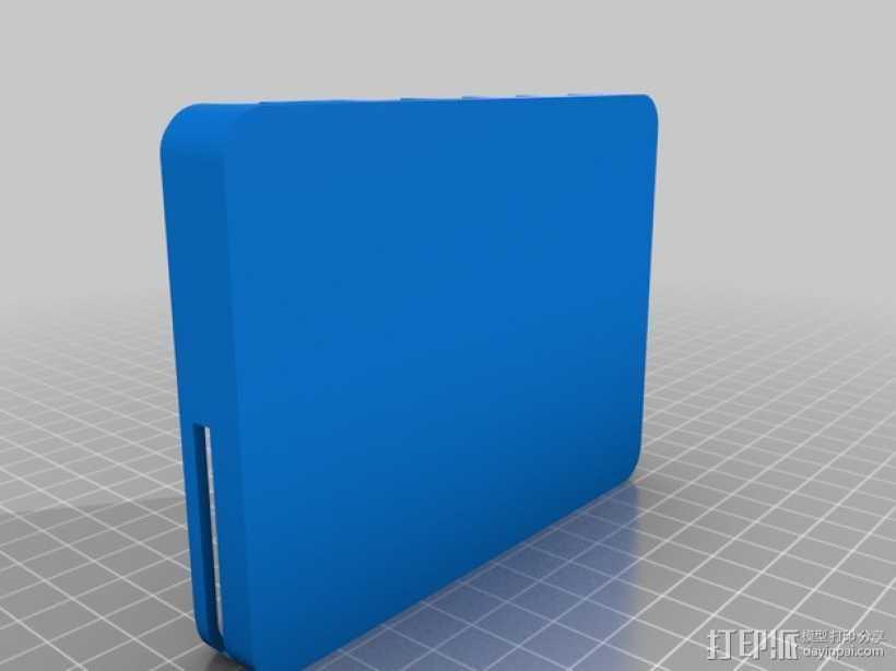 SBC2 手机壳 3D打印模型渲染图