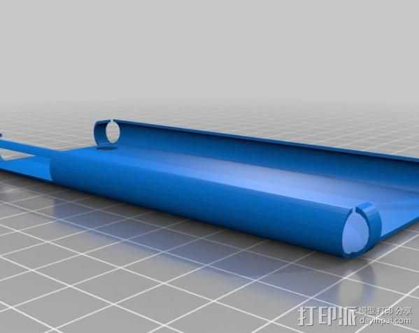 iPhone 3gs 手机壳 3D打印模型渲染图