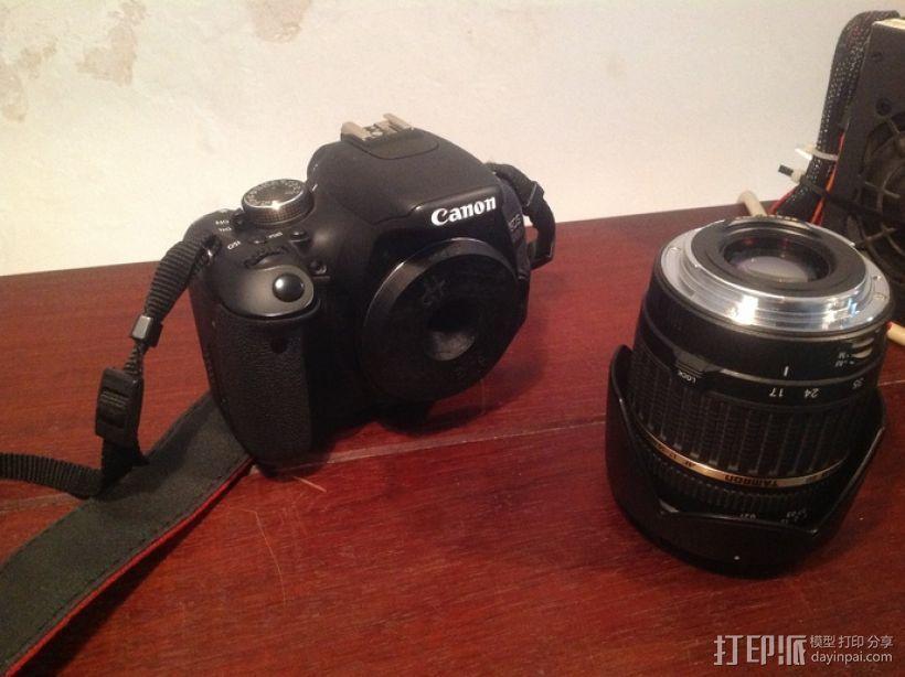 Canon EF 镜头盖 3D打印模型渲染图