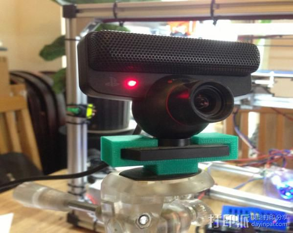 PS3 适配器 3D打印模型渲染图